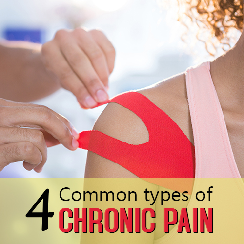 4 common types of chronic pain